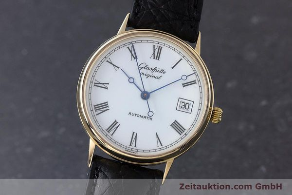GLASHÜTTE OR JAUNEN 14 CT AUTOMATIQUE KAL. GUB 10-30 LP: 14100EUR [160613]