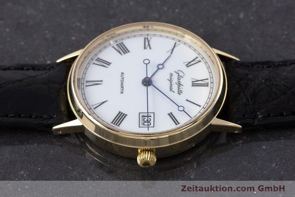 Used luxury watch Glashütte * 14 ct yellow gold automatic Kal. GUB 10-30  | 160613 05