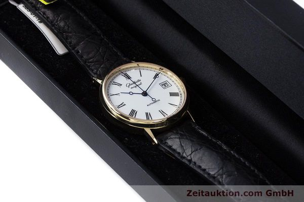 Used luxury watch Glashütte * 14 ct yellow gold automatic Kal. GUB 10-30  | 160613 07