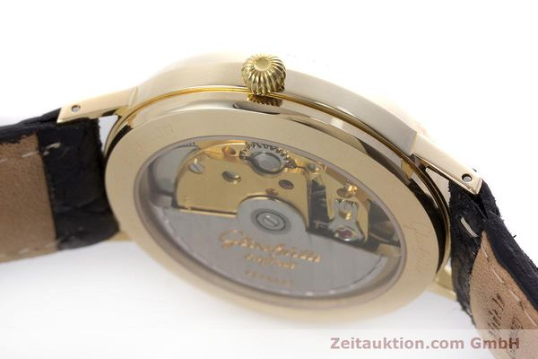 Used luxury watch Glashütte * 14 ct yellow gold automatic Kal. GUB 10-30  | 160613 08