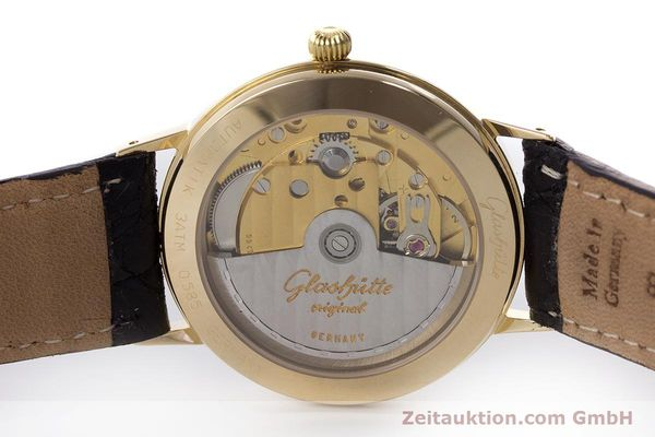 Used luxury watch Glashütte * 14 ct yellow gold automatic Kal. GUB 10-30  | 160613 09