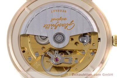 GLASHÜTTE 14 CT YELLOW GOLD AUTOMATIC KAL. GUB 10-30 LP: 14100EUR [160613]