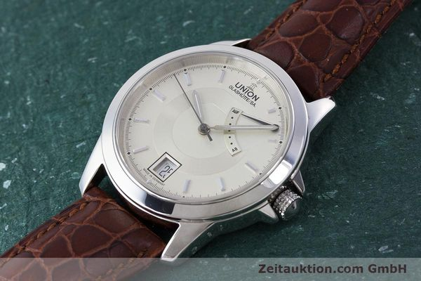 Used luxury watch Union Glashütte Klassik steel automatic Kal. 26  | 160614 01