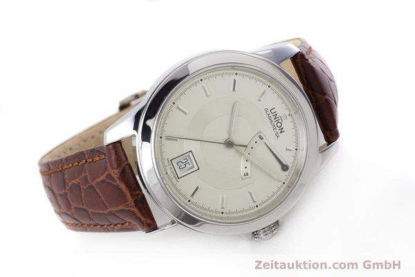 Used luxury watch Union Glashütte Klassik steel automatic Kal. 26  | 160614 03