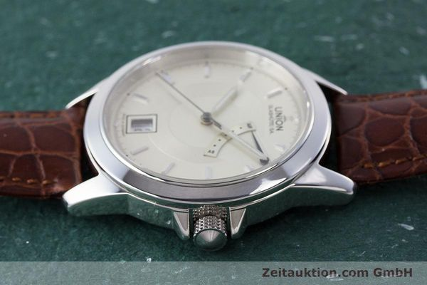Used luxury watch Union Glashütte Klassik steel automatic Kal. 26  | 160614 05