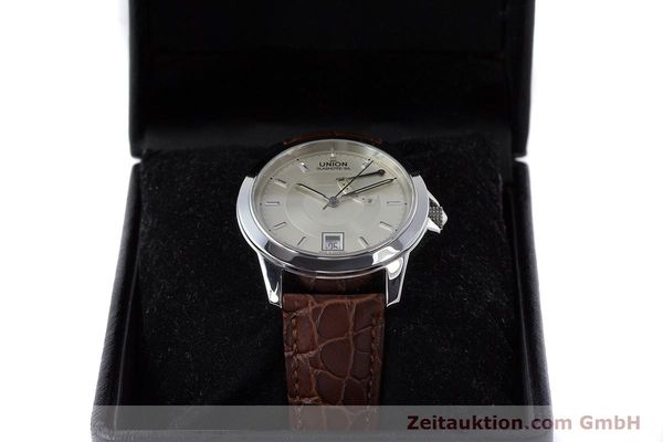 Used luxury watch Union Glashütte Klassik steel automatic Kal. 26  | 160614 07