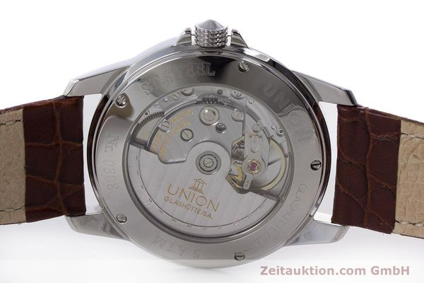 Used luxury watch Union Glashütte Klassik steel automatic Kal. 26  | 160614 09