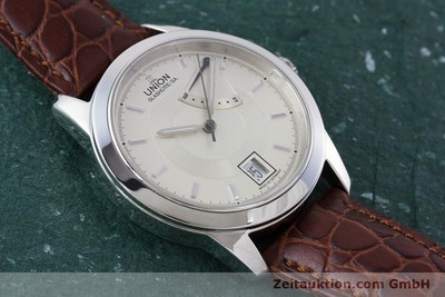 UNION GLASHÜTTE KLASSIK STEEL AUTOMATIC KAL. 26 LP: 3030EUR [160614]