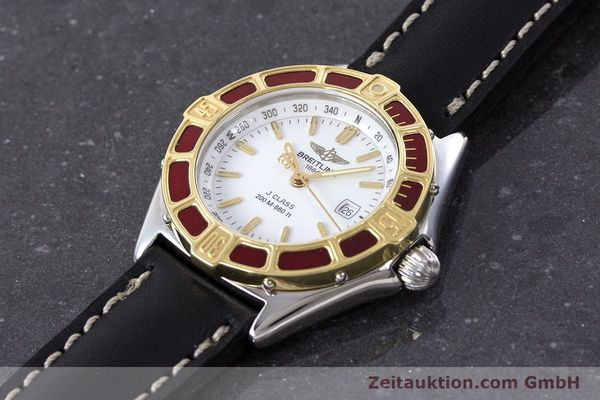 Used luxury watch Breitling J-Class steel / gold quartz Kal. B52 ETA 956112 Ref. D52065  | 160616 01