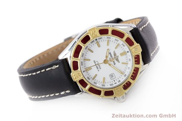 Used luxury watch Breitling J-Class steel / gold quartz Kal. B52 ETA 956112 Ref. D52065  | 160616 03