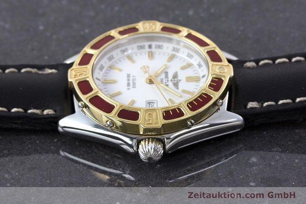 Used luxury watch Breitling J-Class steel / gold quartz Kal. B52 ETA 956112 Ref. D52065  | 160616 05