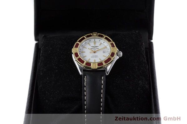 Used luxury watch Breitling J-Class steel / gold quartz Kal. B52 ETA 956112 Ref. D52065  | 160616 07