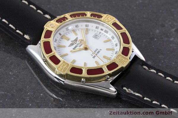 Used luxury watch Breitling J-Class steel / gold quartz Kal. B52 ETA 956112 Ref. D52065  | 160616 12
