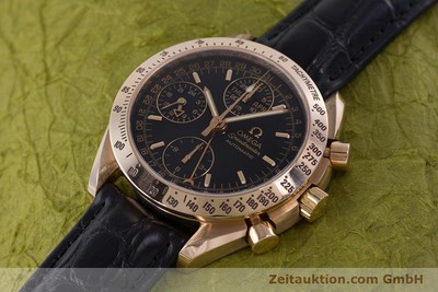 OMEGA SPEEDMASTER CHRONOGRAPH 18 CT RED GOLD AUTOMATIC KAL. 1151 LP: 14200EUR [160619]
