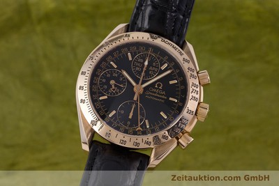OMEGA SPEEDMASTER CHRONOGRAPHE OR ROUGE 18 CT AUTOMATIQUE KAL. 1151 LP: 14200EUR [160619]