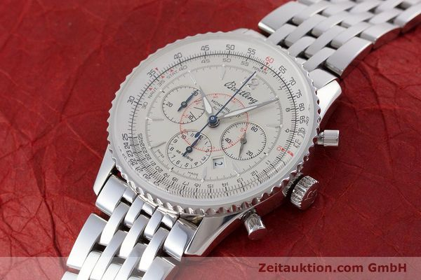 Used luxury watch Breitling Navitimer chronograph steel automatic Kal. B41 ETA 2892A2 Ref. A41030  | 160622 01