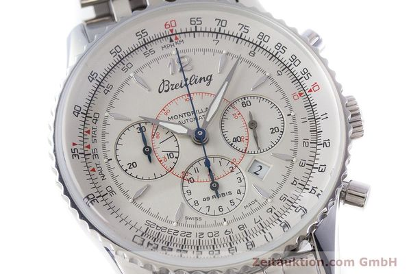 Used luxury watch Breitling Navitimer chronograph steel automatic Kal. B41 ETA 2892A2 Ref. A41030  | 160622 02