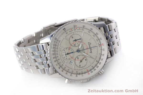 Used luxury watch Breitling Navitimer chronograph steel automatic Kal. B41 ETA 2892A2 Ref. A41030  | 160622 03