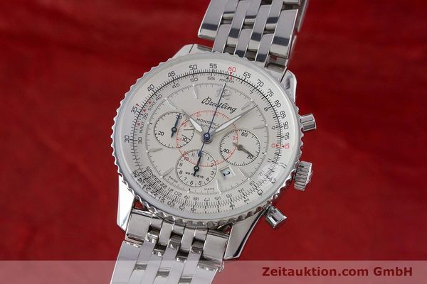 Used luxury watch Breitling Navitimer chronograph steel automatic Kal. B41 ETA 2892A2 Ref. A41030  | 160622 04