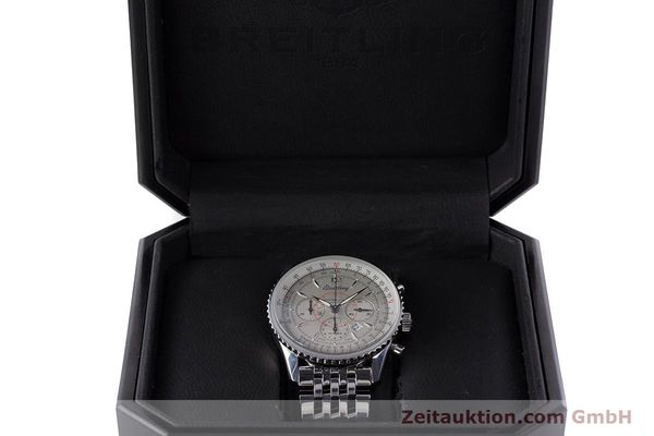 Used luxury watch Breitling Navitimer chronograph steel automatic Kal. B41 ETA 2892A2 Ref. A41030  | 160622 07