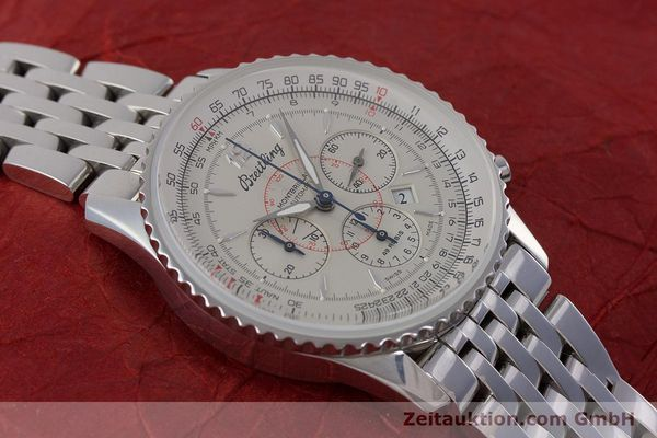 Used luxury watch Breitling Navitimer chronograph steel automatic Kal. B41 ETA 2892A2 Ref. A41030  | 160622 13
