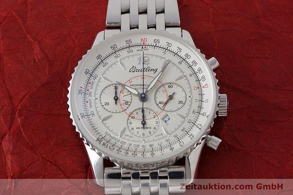Used luxury watch Breitling Navitimer chronograph steel automatic Kal. B41 ETA 2892A2 Ref. A41030  | 160622 14
