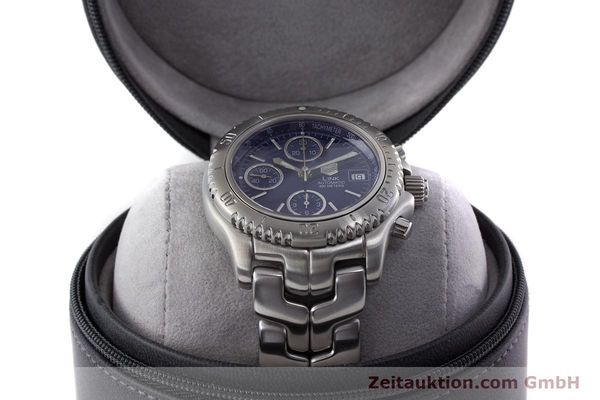 Used luxury watch Tag Heuer Link chronograph steel automatic Kal. ETA 7750 Ref. CT2110  | 160625 07