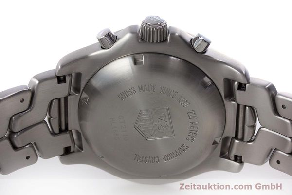 Used luxury watch Tag Heuer Link chronograph steel automatic Kal. ETA 7750 Ref. CT2110  | 160625 09