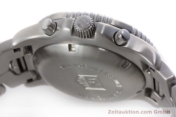 Used luxury watch Tag Heuer Link chronograph steel automatic Kal. ETA 7750 Ref. CT2110  | 160625 11