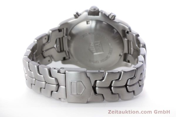Used luxury watch Tag Heuer Link chronograph steel automatic Kal. ETA 7750 Ref. CT2110  | 160625 12