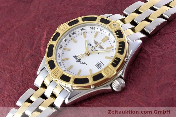 Used luxury watch Breitling Lady J steel / gold quartz Kal. B52 ETA 956112 Ref. D52065  | 160626 01