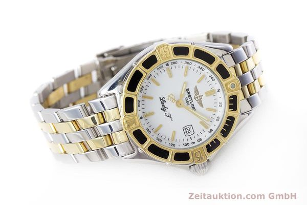 Used luxury watch Breitling Lady J steel / gold quartz Kal. B52 ETA 956112 Ref. D52065  | 160626 03