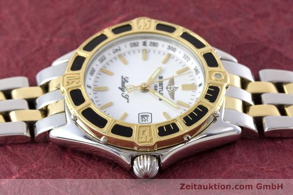 Used luxury watch Breitling Lady J steel / gold quartz Kal. B52 ETA 956112 Ref. D52065  | 160626 05