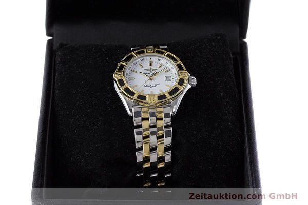 Used luxury watch Breitling Lady J steel / gold quartz Kal. B52 ETA 956112 Ref. D52065  | 160626 07