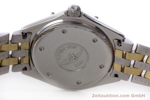 Used luxury watch Breitling Lady J steel / gold quartz Kal. B52 ETA 956112 Ref. D52065  | 160626 09