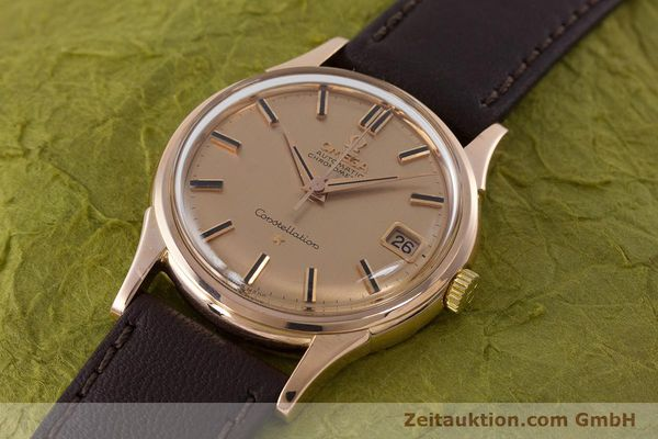Used luxury watch Omega Constellation 18 ct gold automatic Kal. 561 VINTAGE  | 160628 01