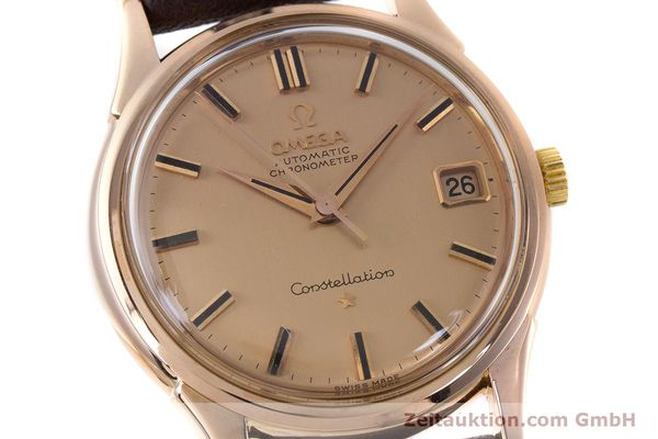 Used luxury watch Omega Constellation 18 ct gold automatic Kal. 561 VINTAGE  | 160628 02