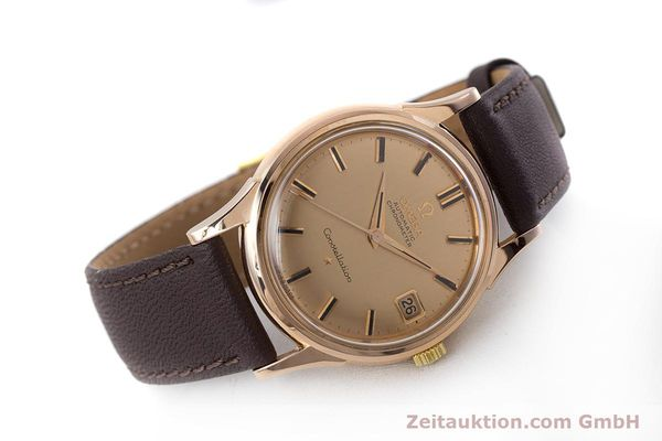 Used luxury watch Omega Constellation 18 ct gold automatic Kal. 561 VINTAGE  | 160628 03