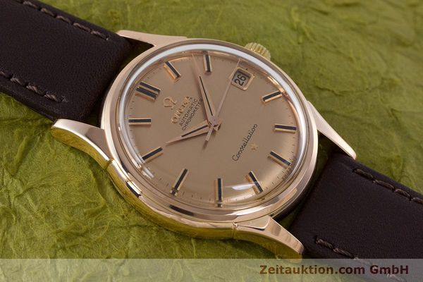 Used luxury watch Omega Constellation 18 ct gold automatic Kal. 561 VINTAGE  | 160628 14
