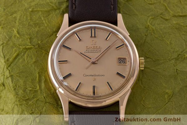 Used luxury watch Omega Constellation 18 ct gold automatic Kal. 561 VINTAGE  | 160628 15