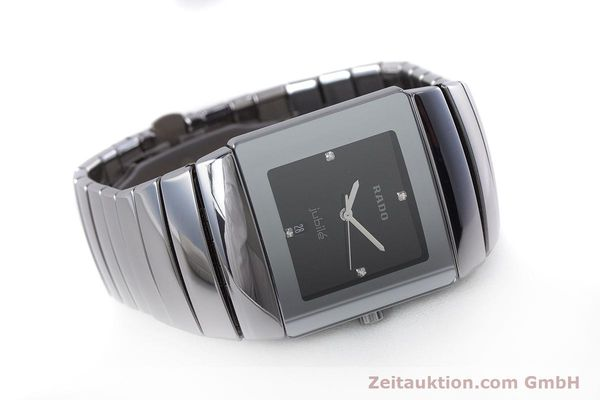Used luxury watch Rado Jubile ceramic quartz Kal. ETA 256.111 Ref. 152.0432.3  | 160630 03