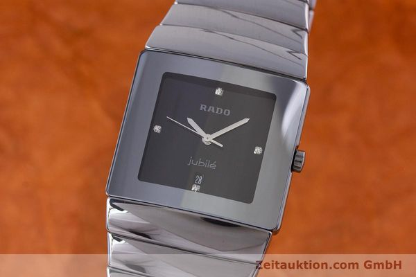 Used luxury watch Rado Jubile ceramic quartz Kal. ETA 256.111 Ref. 152.0432.3  | 160630 04
