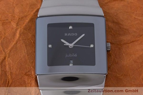 Used luxury watch Rado Jubile ceramic quartz Kal. ETA 256.111 Ref. 152.0432.3  | 160630 15