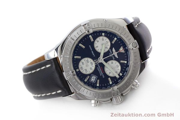 Used luxury watch Breitling Colt chronograph steel quartz Kal. B73 ETA 251.233 Ref. A73380  | 160635 03