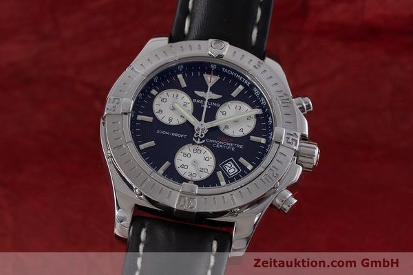 Used luxury watch Breitling Colt chronograph steel quartz Kal. B73 ETA 251.233 Ref. A73380  | 160635 04