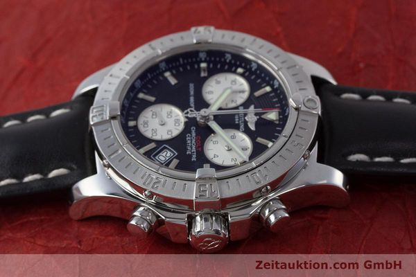 Used luxury watch Breitling Colt chronograph steel quartz Kal. B73 ETA 251.233 Ref. A73380  | 160635 05