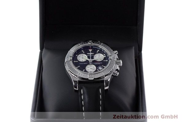 Used luxury watch Breitling Colt chronograph steel quartz Kal. B73 ETA 251.233 Ref. A73380  | 160635 07