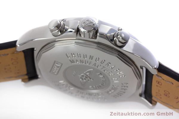 Used luxury watch Breitling Colt chronograph steel quartz Kal. B73 ETA 251.233 Ref. A73380  | 160635 08