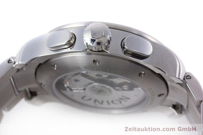 UNION GLASHÜTTE VIRO CHRONOGRAPHE ACIER AUTOMATIQUE KAL. U7750 LP: 2100EUR [160636]