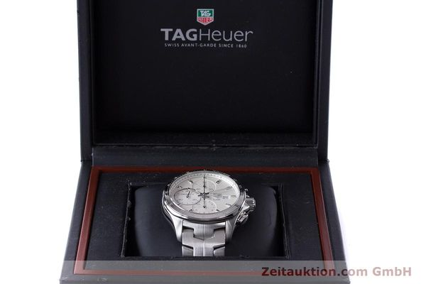 Used luxury watch Tag Heuer Link chronograph steel automatic Kal. 16 ETA 7750 Ref. CAT2011  | 160637 07